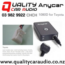 ANYCAR 1080D iPod Aux Media Integration for Toyota with Easy Finance Fitted from $189