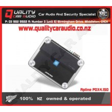 Apline PDX4.150 4 channel 150Wx4 amplifier