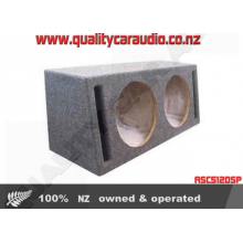 """ASC512DSP 12"""" Double Slot Port Subwoofer Box - Easy LayBy"""