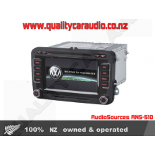 AudioSources ANS-510 DVD GPS Unit for VW Golf Passat - Easy LayBy