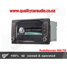 AudioSources ANS-710 DVD MP3 GPS BT Unit for VW Toureag - Easy LayBy
