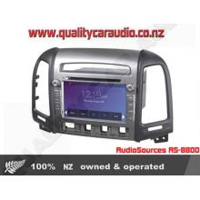 AudioSources AS-8800 Hyundai Sante Fe 06-12 Media Unit - Easy LayBy