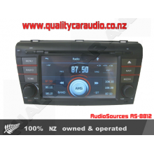 AudioSources AS-8812 MP3 DVD GPS BT Unit for Mazda Axela/3 - Easy LayBy