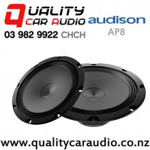 "Audison AP8 8"" 300W (100W RMS) Midbass Car Speakers (pair) with Easy Finance"
