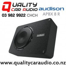 "Audison APBX 8 R 8"" 500W (250W RMS) Single 4 ohm Voice Coil Enclosed Car Subwoofer with Grill with Easy Finance"