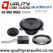 "Audison APK130 5"" (130mm) 225W (75W RMS) 2 Way Component Car Speakers (pair) with Easy Finance"