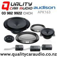 "Audison APK163 1""/4""/6.5"" 375W (125W RMS) 3 Way Component Car Speakers (pair) with Easy Finance"