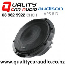 "Audison APS 8 D 8"" 500W (250W RMS) Dual 4 ohm Voice Coil Car Subwoofer with Grill with Easy Finance"