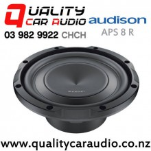 "Audison APS 8 R 8"" 500W (250W RMS) Single 4 ohm Voice Coil Car Subwoofer with Easy Finance"