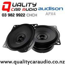 "Audison APX4 4"" 120W (40W RMS) 2 Way Coaxial Car Speakers (pair) with Easy Finance"