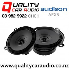 "Audison APX5 5"" (130mm) 150W (50W RMS) 2 Way Coaxial Car Speakers (pair) with Easy Finance"