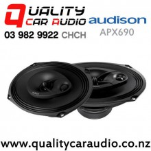 "Audison APX690 6x9"" 300W (100W RMS) 3 Way Coaxial Car Speakers (pair) with Easy Finance"