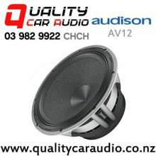 "Audison AV12 12"" 1000W (500W RMS) Single 4ohm Voice Coil Car Subwoofer with Easy Finance"