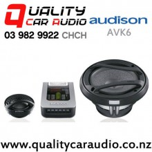 "Audison AVK6 6.5"" 250W (125W RMS) 2 Way Car Component Speakers (pair) with Easy Finance"