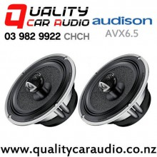 "Audison AVX6.5 6.5"" 200W (100W RMS) 2 Way Coaxial Car Speakers (pair) with Easy Finance"