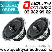"""Audison AVX6.5 6.5"""" 200W 2WAY Coaxial Speakers"""