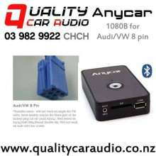 ANYCAR 1080B Bluetooth & USB/SD/AUX for Audi/VW 8 pin with Easy Finance Fitted from $279