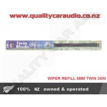 AUNGER WRT22602 Wiper refill 6mm Twin 24 Inch