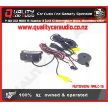 AUTOVIEW AVUC-15 Back Up Sensor/Camera with LED - Easy LayBy