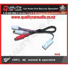 NO857 Subaru AUX IN with RCA Lead with Easy LayBy