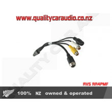 AVS RA4PMF 4 pin male adaptor to RCA female - Easy LayBy