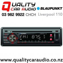 Blaupunkt Livepool 110 Bluetooth USB SD AUX CD NZ Tuners 2x PreOuts Car Stereo with Easy Finance