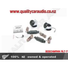 "Boschmann ALT-7 1"" 200W Chrome Car Tweeters (Pair) with Easy LayBy"