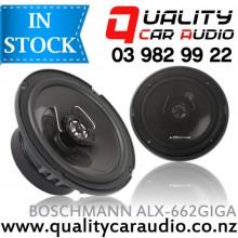 "Boschmann ALX-662GIGA 6.5"" 350W 2 Ways Coaxial Car Speakers with Easy Layby"