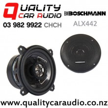 """BOSCHMANN ALX442GIGA 4"""" 250w (125W RMS) 2 Way Coaxial Car Speakers (pair) with Easy Finance"""