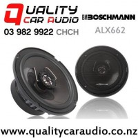 "Boschmann ALX662 6.5"" 350W (175W RMS) 2 Way Car Coaxial Speakers (pair) with Easy Finance"