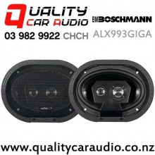 "Boschmann ALX993GIGA 6X9"" 1000W (350W RMS) 3 Way Coaxial Car Speakers (pair) with Easy Finance"