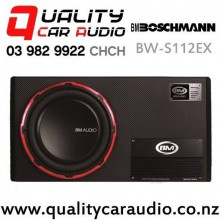 """Boschmann BW-S112EX 12"""" 600W (180W RMS) Active Car Subwoofer with Easy Finance"""
