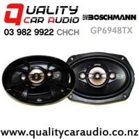 "Boschmann GP6948TX 6x9"" 400W (130W RMS) 3 Way Coaxial Car Speakers (pair) with Easy Finance"