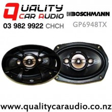 "Boschmann GP6948TX 6x9"" 400W (130W RMS) 3 Way Coaxial Car Speakers (pair) with Easy Finance"