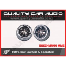 "Boschmann MM6 1"" 200W Car Tweeters with Built In Crossovers (Pair) with Easy Layby"