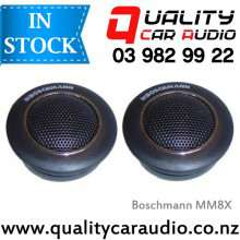 """Boschmann MM8X 1"""" 150W Dome Tweeters with Built in Crossovers (Pair) - EASY LayBy"""