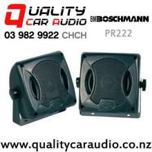 Boschmann PR222 80W 2 Ways Car Box Speakers (Pair) with Easy Layby