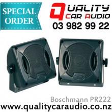 Boschmann PR222 80W 2 Ways Car Box Speakers (Pair) with Easy Layby