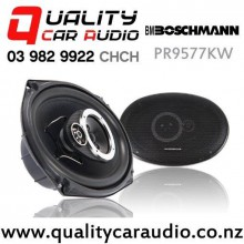 "Boschmann PR9577KW 6x9"" 250W 3 Way Coaxial Car Speakers (pair) with Easy Finance"