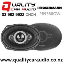 "Boschmann PR9588GW 6x9"" 350W (175W RMS) 4 Way Coaxial Car Speakers (pair) with Easy Finance"