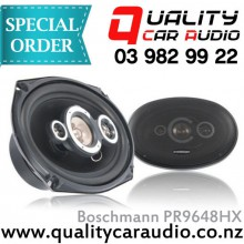 "Boschmann PR9648HX 6x9"" 500W 4 Ways Coaxial Car Speakers (Pair) with Easy Layby"