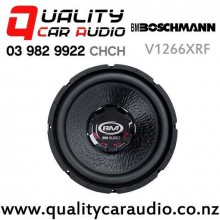 "Boschmann V1266XRF 12"" 900W (300W RMS) Dual 4 ohm Voice Coil Car Subwoofer with Easy Finance"