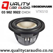 "Boschmann VTKS10 10"" 1100W (340W RMS) Dual 4 ohm Voice Coil Car Subwoofer with Easy Finance"