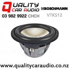 "Boschmann VTKS12 12"" 1300W (442W RMS) Dual 4 ohm Voice Coil Car Subwoofer with Easy Finance"
