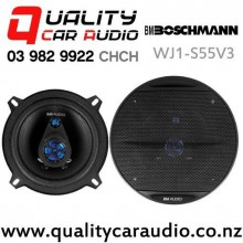 "Boschmann WJ1-S55V3 5.25"" 300W (100W RMS) 3 Way Coaxial Car Speakers (pair) with Easy Finance"