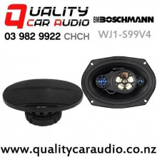 "Boschmann WJ1-S99V4 6x9"" 500W (160W RMS) 4 Way Coaxial Car Speakers (pair) with Easy Finance"