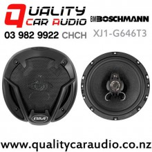 "Boschmann XJ1-G646T3 6"" (16cm) 260W 3 Ways Coaxial Car Speakers (pair) with Easy Finance"
