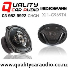 "Boschmann XJ1-G969T4 6x9"" 500W (170W RMS) 4 Way Coaxial Car Speakers (pair) with Easy Finance"