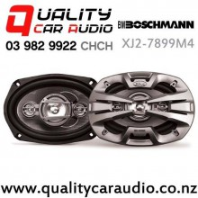 "Boschmann XJ2-7899M4 6x9"" 450W (140W RMS) 4 Way Coaxial Car Speakers (pair) with Easy Finance"