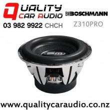 "Boschmann Z310PRO 10"" 1500W (510W RMS) Dual 4 ohm Voice Coil Car Subwoofer with Easy Finance"
